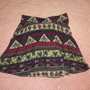 L.A. Hearts Boho mini skirt small